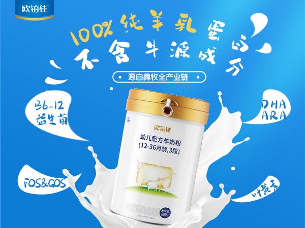 欧铂佳100%纯羊乳蛋白配方